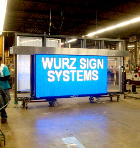 Wurz Sign Systems LED Readerboard Signs Design Company